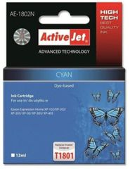 ActiveJet kompatibilna kartuša za Epson T1802, cyan
