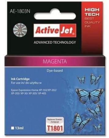 ActiveJet kompatibilna kartuša za Epson T1803, magenta