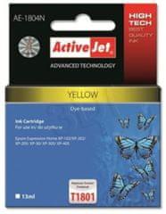 ActiveJet kompatibilna kartuša za Epson T1804, rumenakompatibilna kartuša za Epson T1804, rumena