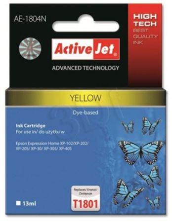 ActiveJet kompatibilna tinta za Epson T1804, žuta