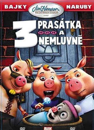Bajky naruby: 3 prasátka a nemluvně - DVD