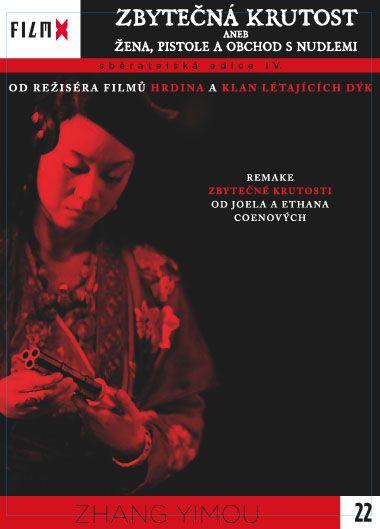 Zbytečná krutost aneb Žena, pistole a obchod s nudlemi - DVD