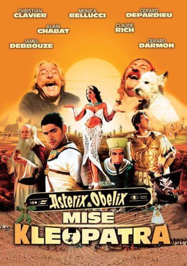 Asterix a Obelix: Mise Kleopatra - DVD
