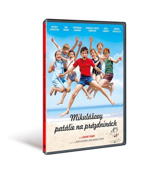 Mikulášovy patálie na prázdninách - DVD