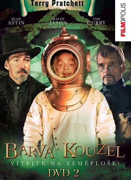 Terry Pratchett: Úžasná Zeměplocha - Barva kouzel 2 - DVD