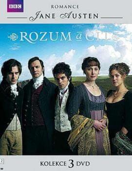 Komplet Rozum a cit (3DVD) - DVD