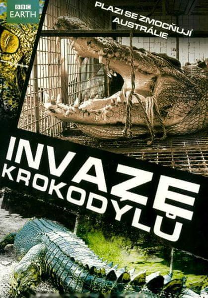 Invaze krokodýlů - DVD