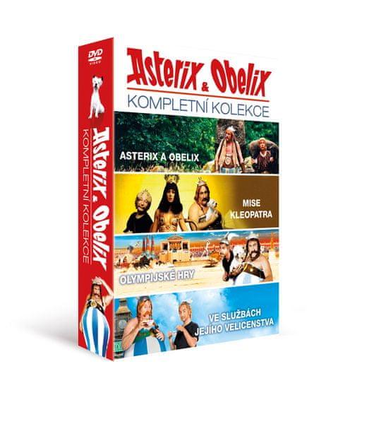 Asterix a Obelix: kolekce (4DVD) - DVD
