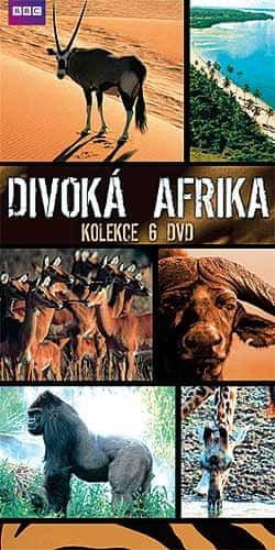 Divoká Afrika: kolekce (6 DVD) - DVD