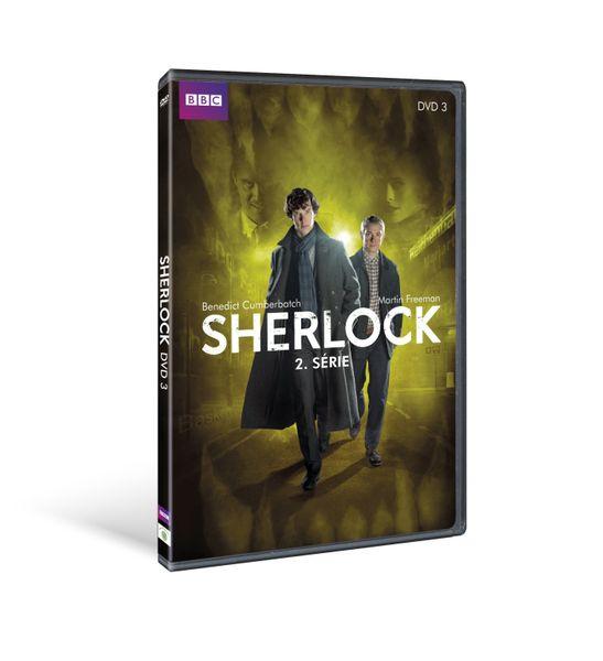 Sherlock - II. série, díl 3. - DVD