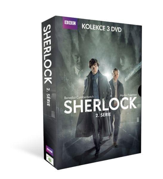 Sherlock - II. série: kolekce (3DVD) - DVD