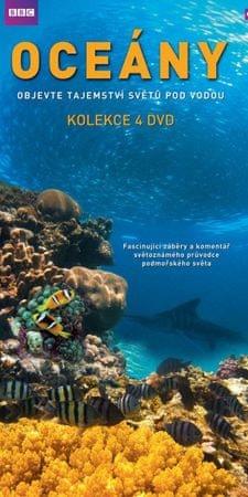 Oceány: kolekce (4DVD) - DVD