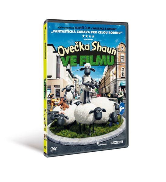 Ovečka Shaun ve filmu - DVD