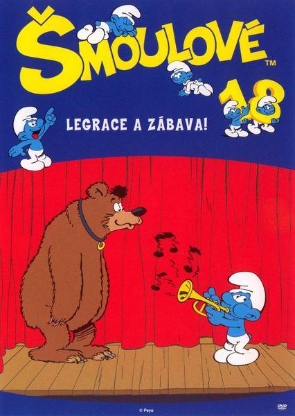 Šmoulové 18 - DVD