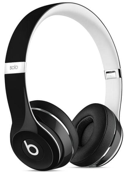 Beats by Dr. Dre Solo2 (Luxe Edition), černá/bílá (ML9E2ZM/A)