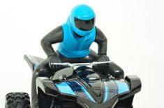 Maisto Rock Crawler ATV - niebieski