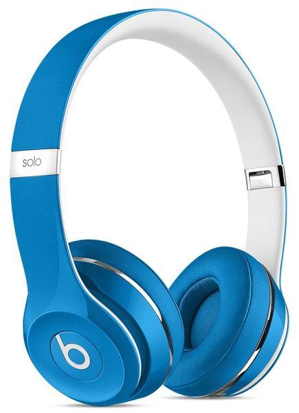 Beats by Dr. Dre Solo2 (Luxe Edition), modrá/bílá (ML9F2ZM/A)
