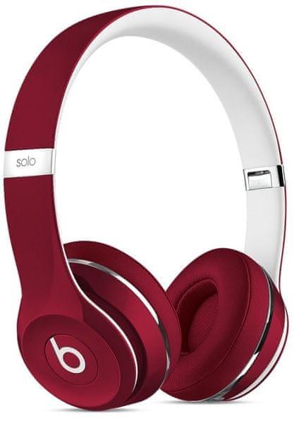 Beats by Dr. Dre Solo2 (Luxe Edition), červená/bílá (ML9G2ZM/A)