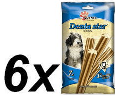 Akinu pseći štapići Denta star, 6 x 90 g