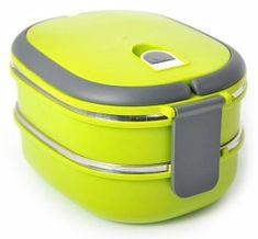 Eldom Lunchbox dvo-celična posoda, zelena