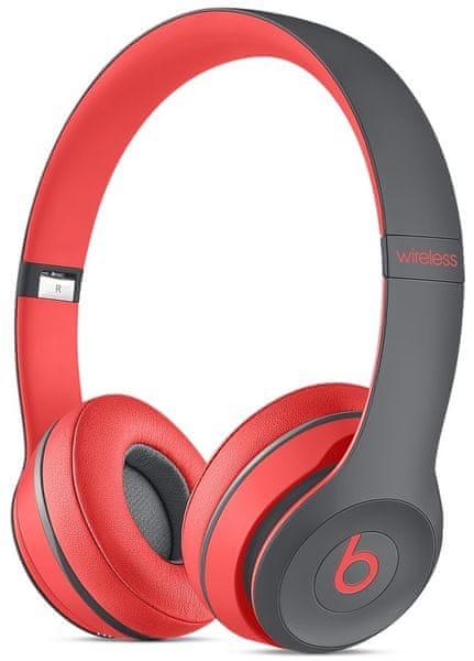 Beats by Dr. Dre Solo2 Wireless (Active kolekce), červená (MKQ22ZM/A)