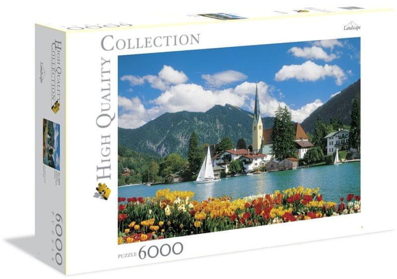 Clementoni Puzzle 6000 dílků - Tegernsee, Rottach