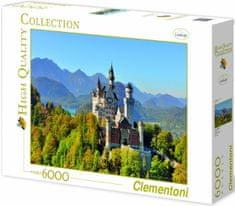 Clementoni Neuschwanstein 6000 dielikov