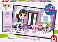 Littlest Pet Shop Puzzle s originálnou figúrkou