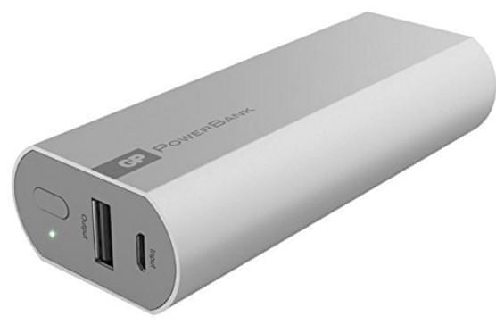 GP Powerbank 5200 mAh (FN05M) Silver