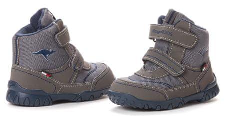 bbfd86d89e7 KangaROOS dětská kotníčková obuv Inscore 22 šedá