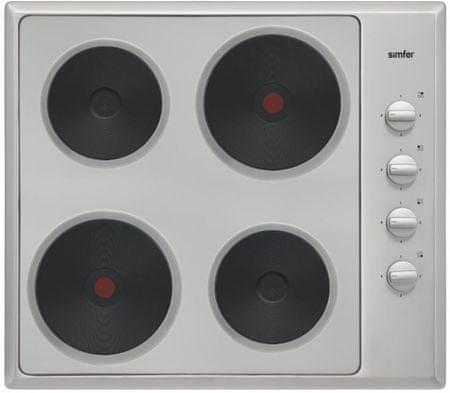Simfer električna kuhalna plošča 6040 QEHM