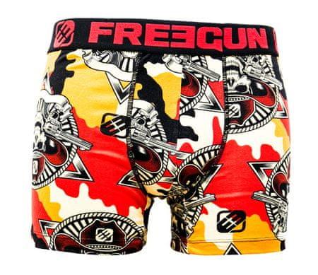 Freegun boksarice FGC4/1/BC/DES, moške, oranžne S