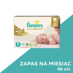 Pampers Pieluchy Premium Care 5 Junior - 88 szt. (zapas na miesiąc)