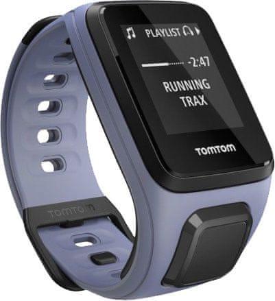 """TomTom Runner 2, Music GPS, Sky Captain Blue Purple Haze, """"S"""""""