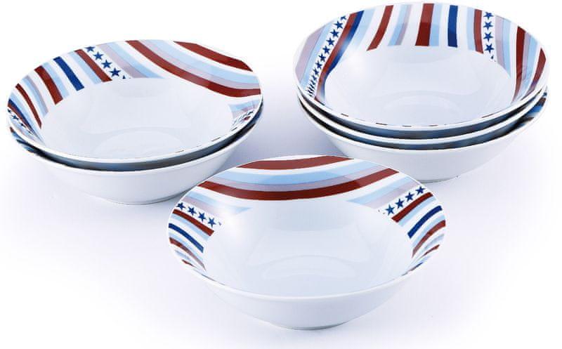 Renberg Set 6ks misek, porcelán STARLINE