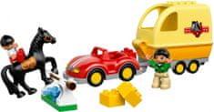LEGO® DUPLO: Prikolica za konja 10807