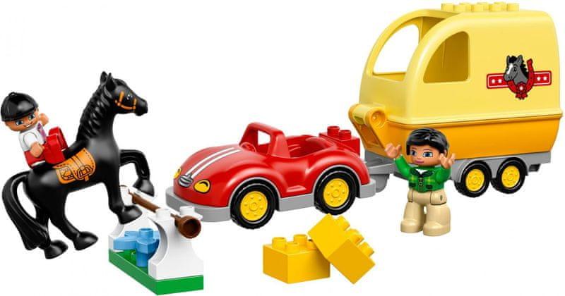 LEGO® DUPLO 10807 Přívěs pro koně