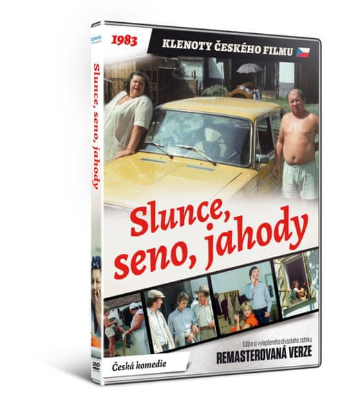 Slunce, seno, jahody - edice KLENOTY ČESKÉHO FILMU (remasterovaná verze) - DVD