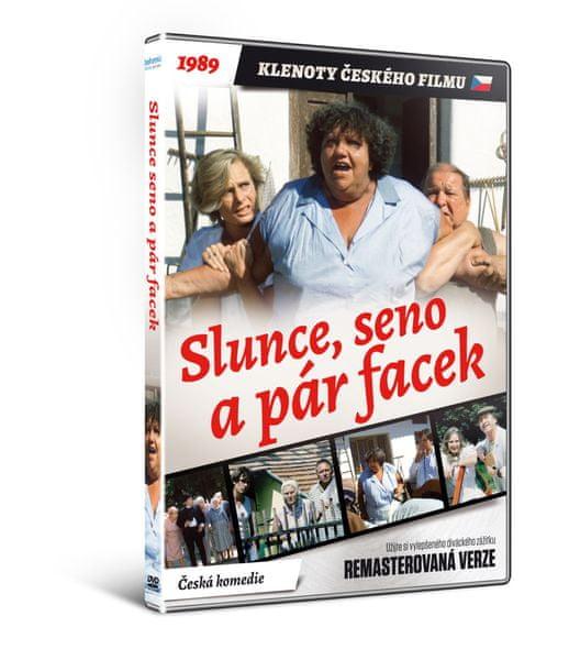Slunce, seno a pár facek - edice KLENOTY ČESKÉHO FILMU (remasterovaná verze) - DVD
