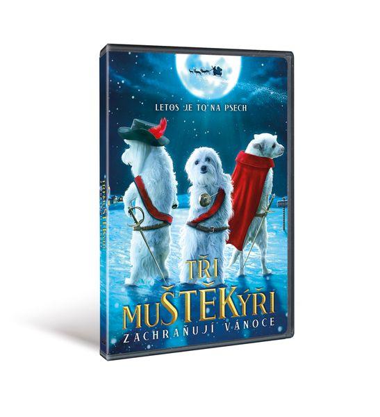 Tři muŠTĚKýři zachraňují Vánoce - DVD