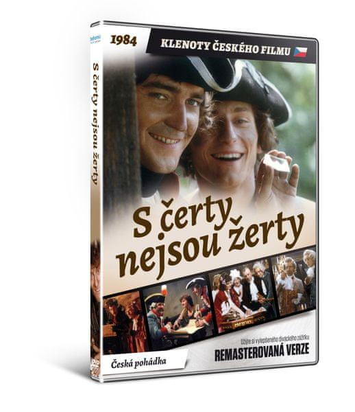 S čerty nejsou žerty - edice KLENOTY ČESKÉHO FILMU (remasterovaná verze) - DVD