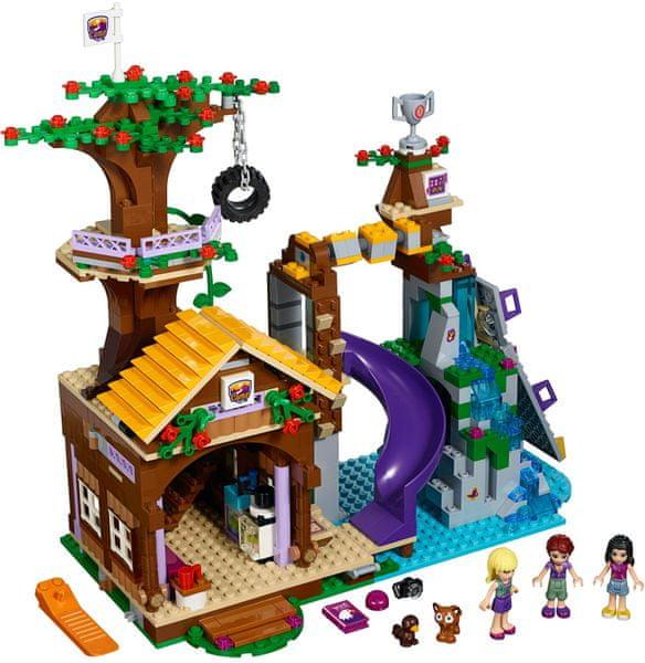 LEGO® Friends 41122 Dobrodružný tábor - dům na stromě