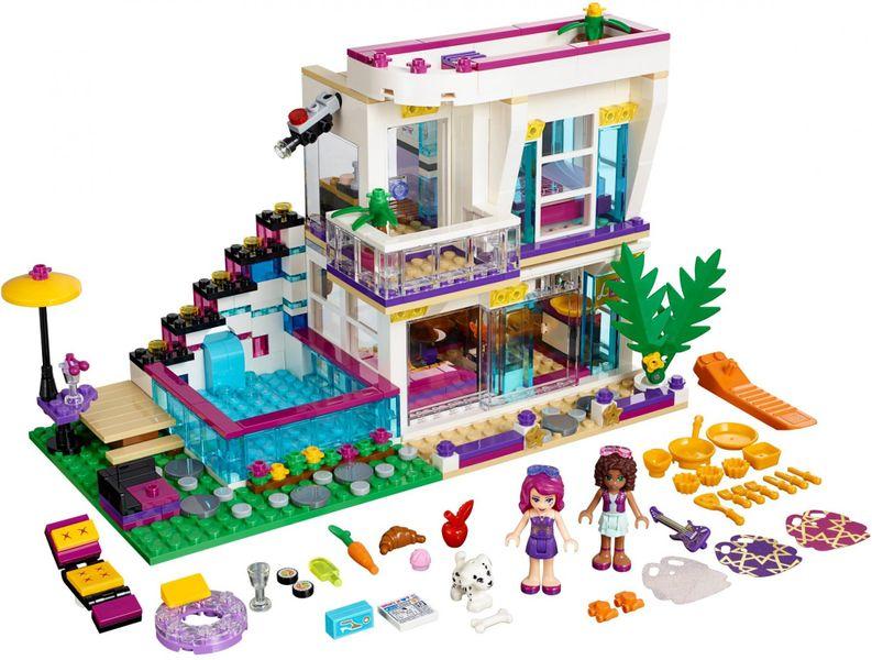 LEGO® Friends 41135 Livi a její dům popové hvězdy