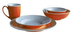 Toro jedilni set, 20 kosov, oranžen