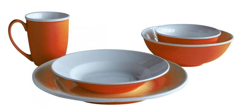 Toro Jídelní set 20 ks, oranžová