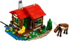 LEGO® Creator: Vikendica na jezeru 31048