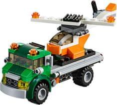 LEGO® CREATOR: Transporter za helikopter 31043