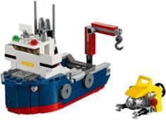 LEGO® CREATOR: Istraživač oceana 31045