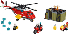 LEGO City 60108 Enota za požar