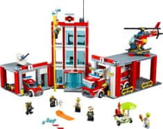 LEGO City 60110 Remiza strażacka